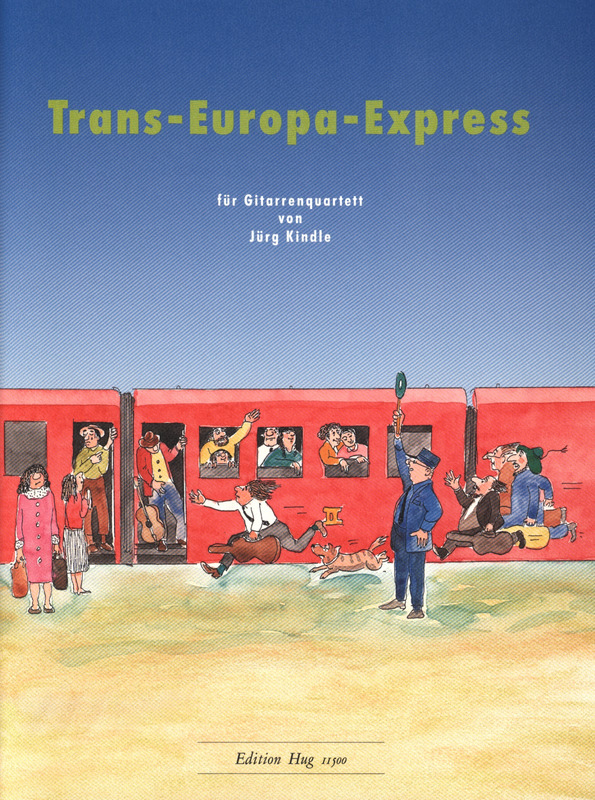 Jürg Kindle: Trans-Europa-Express