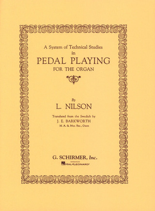 Nilson System Of Technical Studies In Pedal Playing