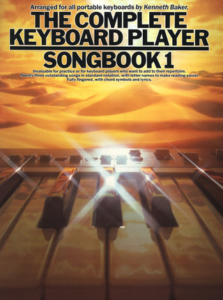 Complete Keyboard Player Songbook 1