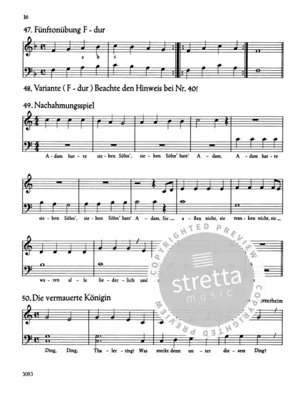 das kleine klavier von keller gertrud im stretta noten