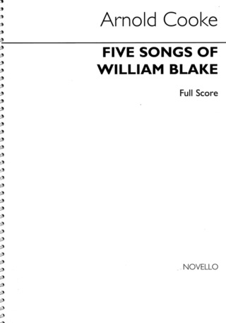 Arnold Cooke: 5 Songs of William Blake