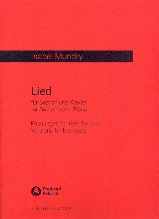Isabel Mundry: Lied