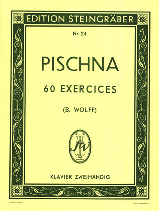 Pischna Johann: 60 Exercises Progressifs