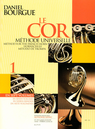Daniel Bourgue: Method for the French Horn Vol. 1
