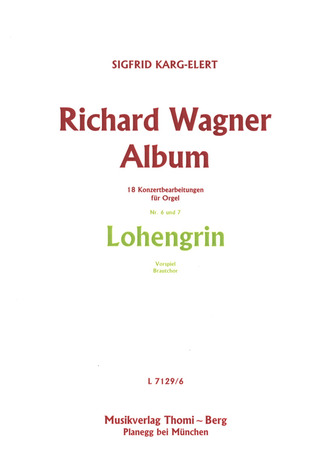 Richard Wagner Album - Nr. 6 und 7