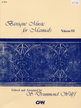 Baroque Music for Manuals 3