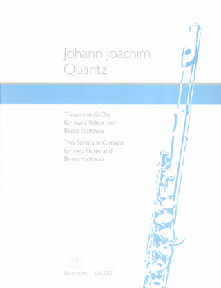 Johann Joachim Quantz: Trio Sonata in G major
