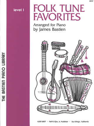 Folk Tune Favourites Level 1 Pf