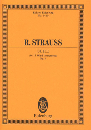 Richard Strauss: Suite  B-Dur op. 4