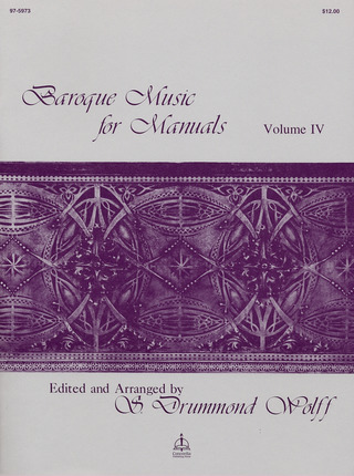 Baroque Music for Manuals 4