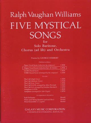 Ralph Vaughan Williams: 5 Mystical Songs