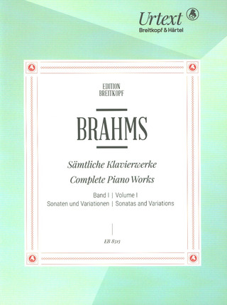Johannes Brahms: Complete Piano Works 1