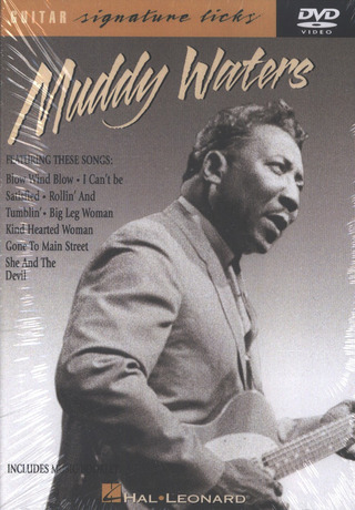 Waters Muddy: Muddy Waters Guitar Signature Licks Dvd