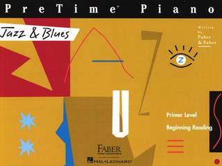 Randall Faber et al.: Piano Adventures Primer Level – PreTime Jazz & Blues