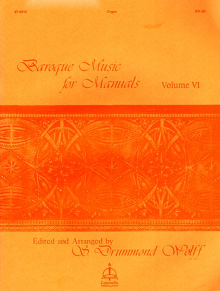 Baroque Music for Manuals 6
