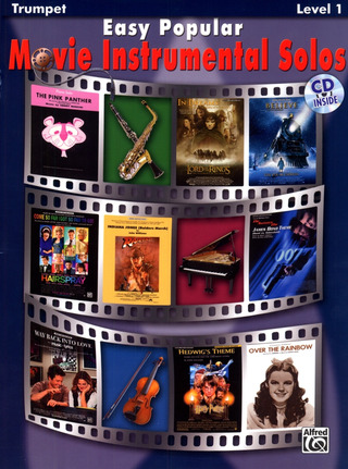 Tod Edmondson: Easy Popular Movie Instrumental Solos (Trumpet)