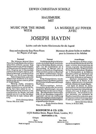 Joseph Haydn: Music For The Home