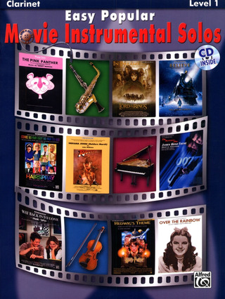 Easy Popular Movie Instrumental Solos – Clarinet