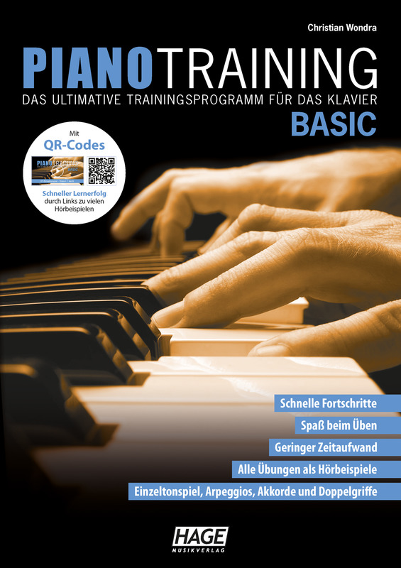 Christian Wondra: Piano Training Basic