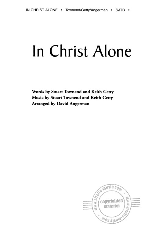 Stuart Townend m fl.: In Christ Alone