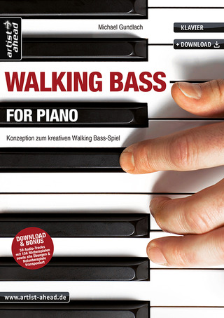 Michael Gundlach: Walking Bass for Piano