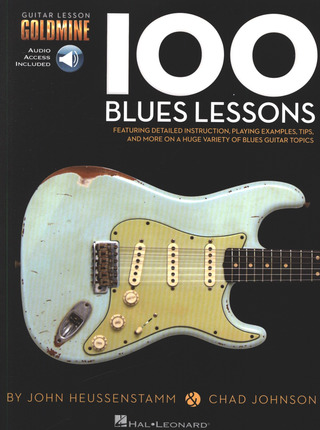Heussenstamm John / Johnson Chad: 100 Blues Lessons: Guitar Lesson Goldmine