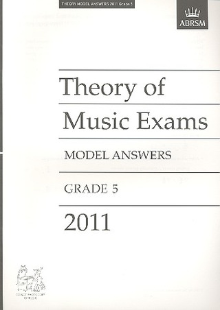 ABRSM Theory Of Music Exams 2011: Model Answers - Grade 5
