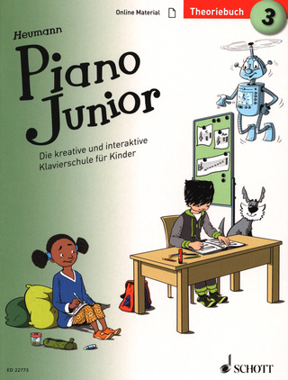 Hans-Günter Heumann: Piano Junior – Theoriebuch 3