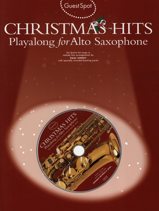 Guest Spot Christmas Hits For Alto Saxophone Bk/Cd