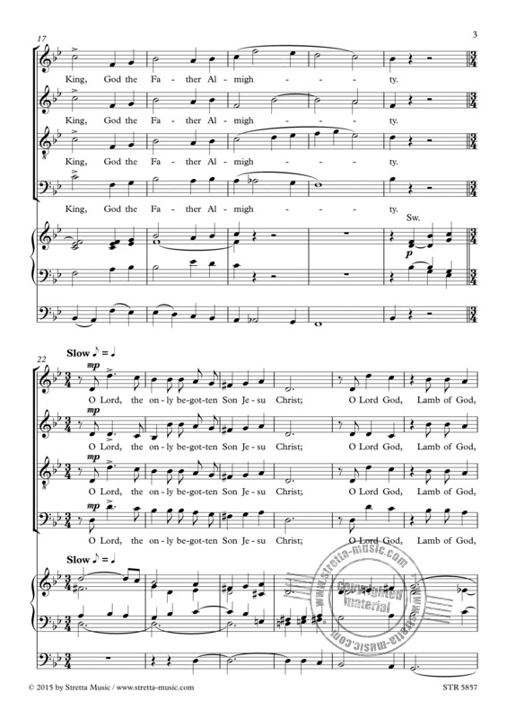Charles Villiers Stanford: Gloria in excelsis (2)