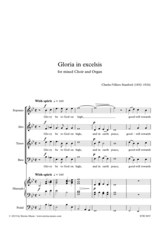 Charles Villiers Stanford: Gloria in excelsis