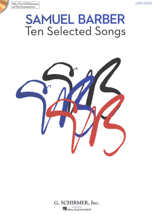 Samuel Barber: Ten Selected Songs
