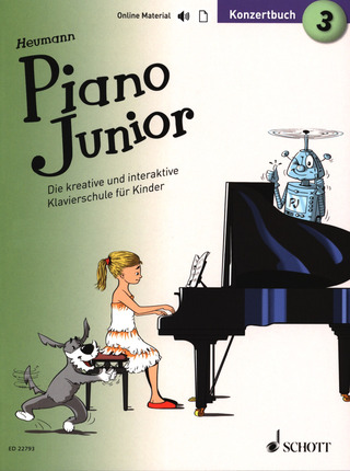 Hans-Günter Heumann: Piano Junior – Konzertbuch 3