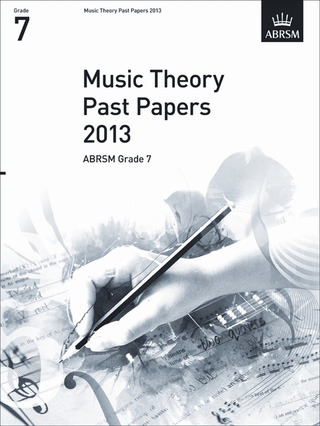 Music Theory Past Papers (2013)