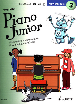 Hans-Günter Heumann: Piano Junior – Klavierschule 3