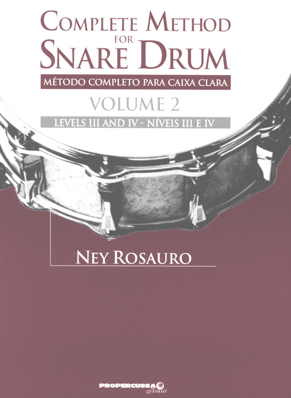 Ney Rosauro: Complete Method for Snare Drum 2