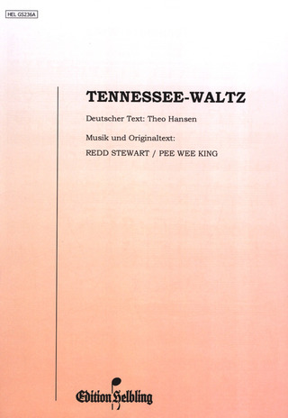 Stewart Rod + King P. W.: Tennesse Waltz