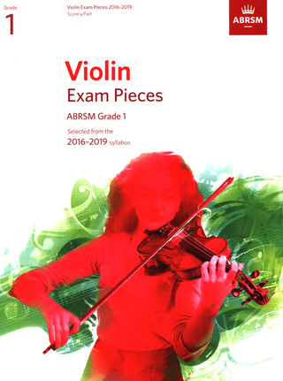 Violin Exam Pieces 2016-2019, ABRSM Grade 1