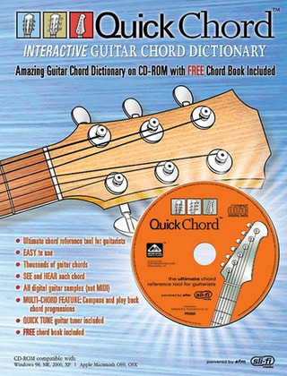 Quick Chord – Interactive Guitar Chord Dictionary