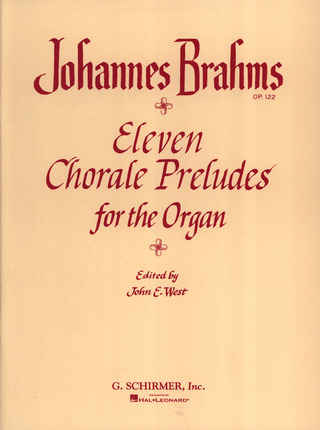 Johannes Brahms: 11 Chorale Preludes
