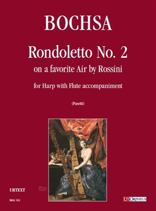 Nicolas-Charles Bochsa: Rondoletto No. 2 on a Favorite Air by Rossini for Harp and Flute