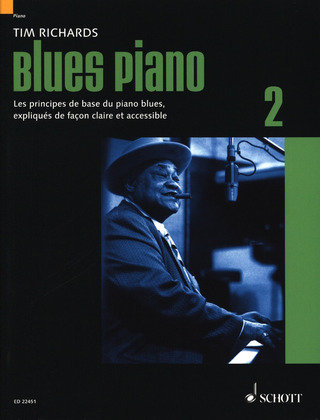 Tim Richards: Blues Piano 2