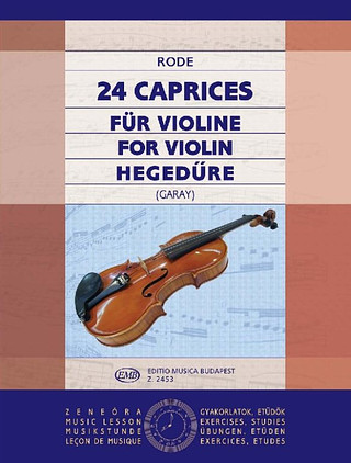 Pierre Rode: 24 Caprices