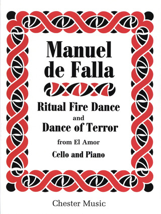 Manuel de Falla: FALLA TWO DANCES FROM EL AMOR BRUJO CELLO and PIANO ARR PIATIGORSKY