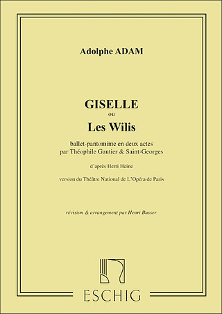 Adolphe Adam: Giselle Ballet Piano (Busser)