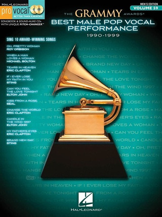 The Grammy Awards: Best Male Pop Vocal Performance
