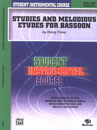 Henry Paine: Studies and Melodious Etudes 1