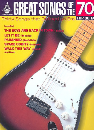 Great Songs Of The 1970S For Guitar Gtab/MLC