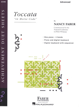 Nancy Faber: Faber Piano Adventures – Toccata in Morse Code