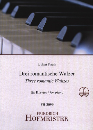 Lukas Pauli: Three romantic Waltzes op. 1